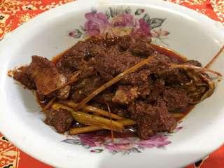 Sambal goreng daging ala mami