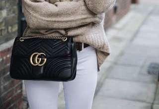Gucci Marmont medium (authentic)