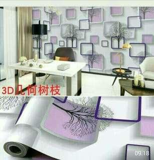 Wallpaper Sticker Dinding 10 Meter