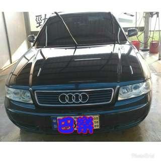 經典老車1998年奧迪,售價9.8萬