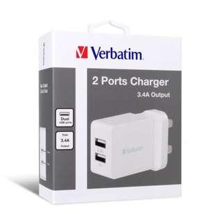 抵玩之選 2 Ports充電器