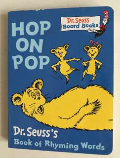 Dr Seuss hop on pop board book