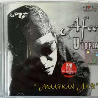 Afee Utopia Maafkan Aku CD