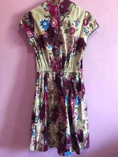 Mini batik dress
