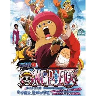 One Piece The Movie 9 海賊王 电影版 Anime DVD