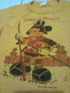 Vintage Samurai Mickey TShirt