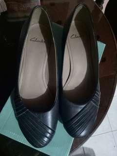 Original Clarks Black Shoes