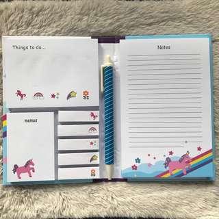 Unicorn sticky notes folder (Big)