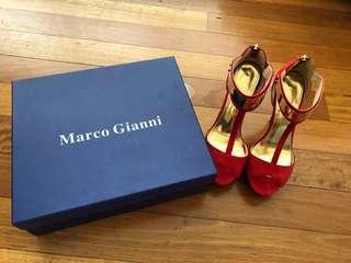 Marco Gianni red heels