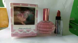 Memories Flirting under firework Free Lipstik