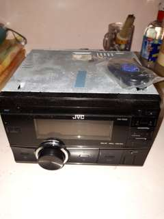 Jual head unit JVC