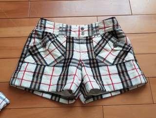🚚 日本製純羊毛Burberry藍標短褲