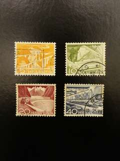 Switzerland Stamps (Set of 4)