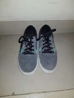 [100% ORIGINAL] DC Shoes sneakers grey and mint (for kids)