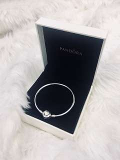Authentic Brand New Pandora Bangle (with card and paperbag)