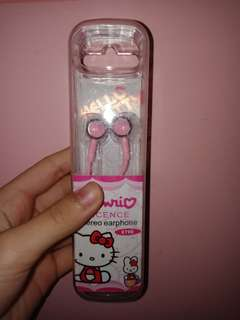 earphone hello kitty