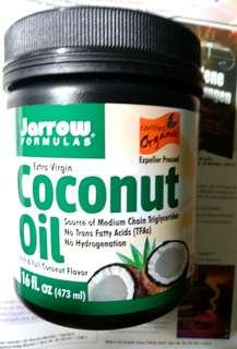 🚚 【現貨】【效期2020年3月】美國 【Jarrow Formulas】有機冷壓初榨椰子油【473ml】