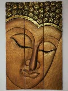 3D Buddha Face Frame
