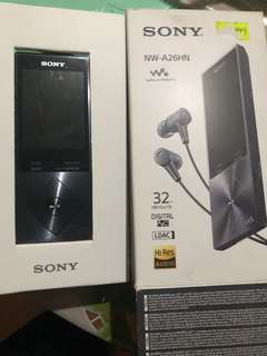 Sony high resolution audio player 32gb