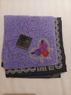 <清貨。全新> Anna Sui 毛巾仔 handkerchief
