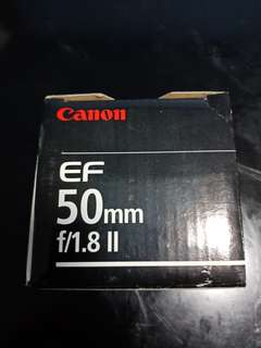 Canon EF50mm f/1.8 II (REPRICED!)