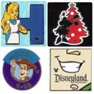 (徵)以上迪士尼襟章 - ISO Disney Pin