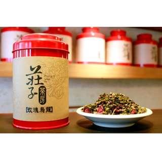 莊子茶房-玫瑰烏龍(2罐)75g/罐