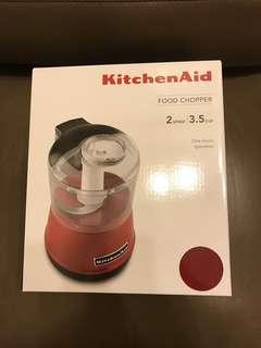 KITCHENAID Kitchen Aid food chopper 食物切碎機 (帝國紅)