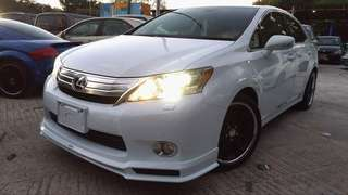 LEXUS hs250h IS250 2009