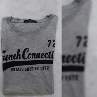 French connection UK t-shirt in gray