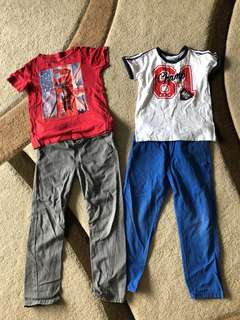 Clothes for boy 5-6yrs