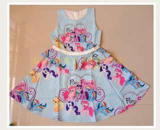 My Little Pony Layered Dress