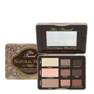 PO AUTHENTIC Too Faced Natural Matte Eye Palette