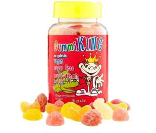 Gummi KING sugar free multi-vitamin (60 Gummies)