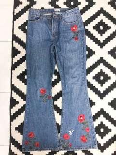 Zalia Flare Jeans Bootcut