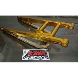 KING DRAG Alloy Swing Arm - gold