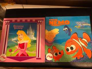 Disney book $20 for two books