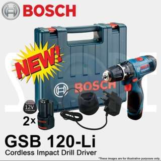 OFFER SALE - BOSCH GSB 120-LI 12V Professional Cordless Impact Drill Driver