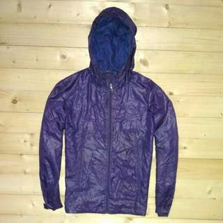 Uniqlo Original Running Jaket Ungu