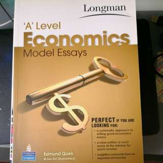 Economics Textbook for A Levels