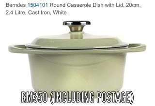 Berndes cast iron dutch casserole