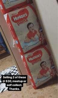 Huggies Silver Diaper Pants - Size M