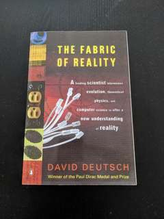 The Fabric of Reality, David Deutsch