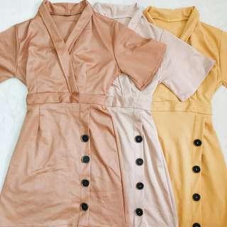 SALE!!! Vintage Button Dress