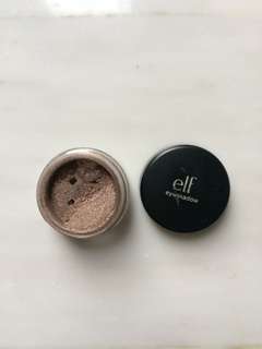 ELF Mineral Eyeshadow Powder/glitter warna Confident (coklat tua)