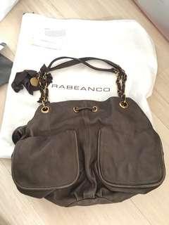 全新Rabeanco真皮手袋