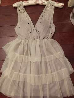 🚚 Momoco雪紡蕾絲小洋裝👗 #派對款