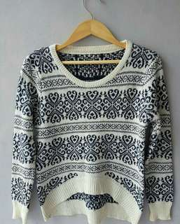 sweater rajut halus cute bgt.