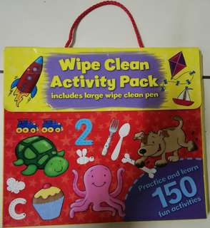 Wipe-Clean Activity Book