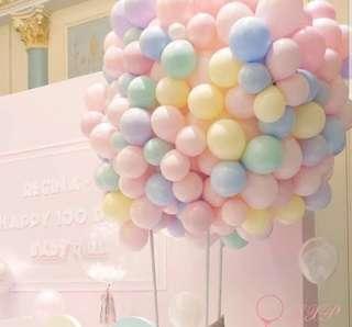 🚚 Baby macaron colours balloon 🎈 🎈